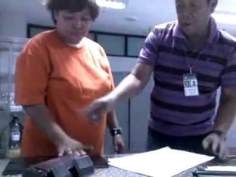 Shirley Ramones Orge Finger Printed @ NBI Manila for Stafa