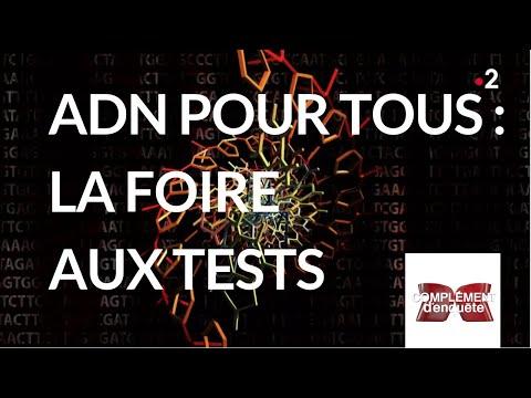 Complément d'enquête. ADN pour tous : la foire aux tests - 15 novembre 2018 (France 2)