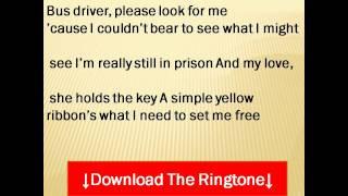 Dawn featuring Tony Orlando - Tie a Yellow Ribbon Round the Ole Oak Tree Lyrics