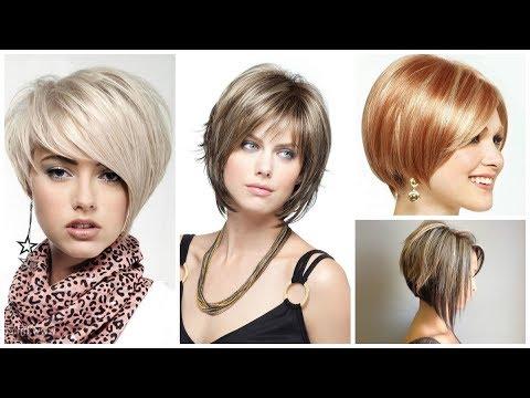 Стрижки женские: боб на короткие и средние волосы. Модные ...