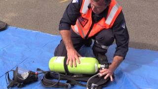 How to Fit a Breathing Apparatus Cylinder