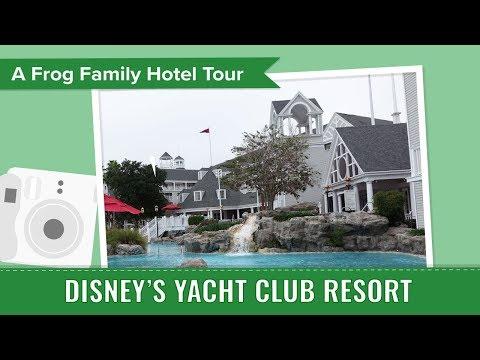 Disney's Yacht Club Resort Tour, an Undercover Tourist Photo Album