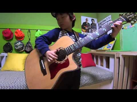 Classical Gas (by Mason Williams) - Tommy Emmanuel(fingerstyle Guitar Cover By 7year-old Kid)