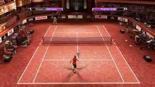 Virtua Tennis 4 -  modo carrera -  contra king