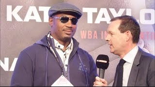 LENNOX LEWIS - 'BOXERS GET OLD OVER NIGHT AN DONT REALISE IT UNTIL THEY'RE IN THE RING'