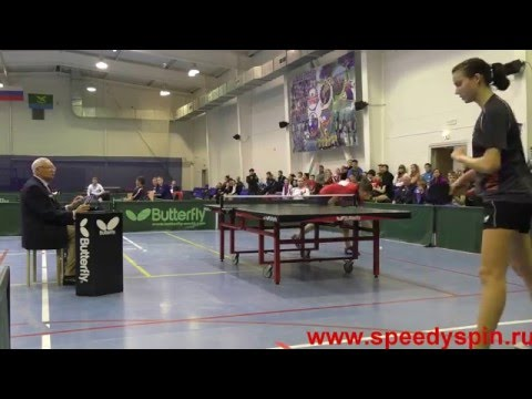 1\8 Russian Youth Table Tennis Championship 2015. FHD