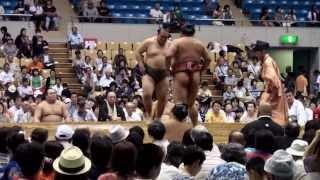 平成二十五年八月三日、大相撲盛岡場所.