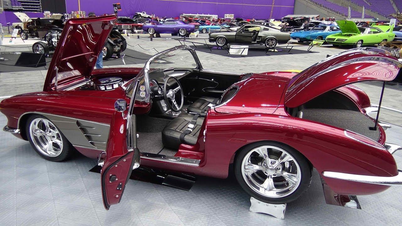 Amazing 1958 Corvette Custom RestoMod shown at World of Wheels