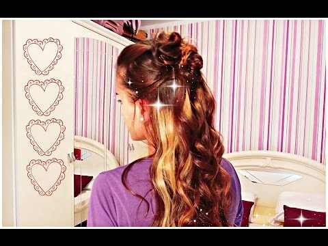 Cute And Simple Wedding Hairstyle for Medium Long Hair