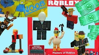 Roblox Toys, Masters of Roblox Set & Code, Stop-Motion Animation, Unboxing & Toy Review, Series 3