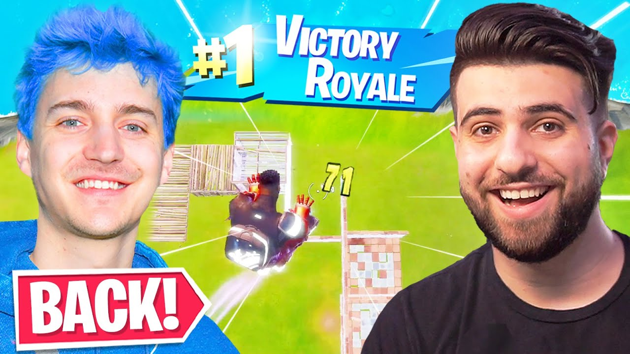 I Brought NINJA Back to Fortnite! thumbnail