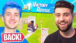 I Brought NINJA Back to Fortnite!