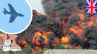 Shoreham Airshow gone wrong: Crash on A27 killed seven and injured many others in UK - TomoNews