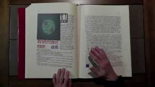 A Look Inside Carl Jung's Red Book [ ASMR ]