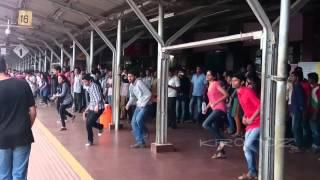 Kerala's first flashmob in Railway Station by Kronoz