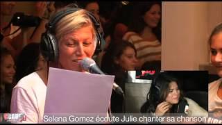 Selena Gomez écoute Julie chanter sa chanson - C'Cauet sur NRJ thumbnail