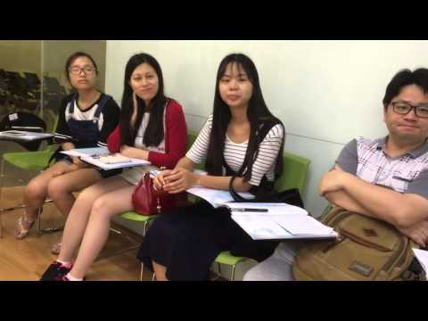 adult english class in shenzhen, china