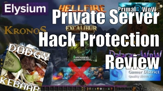 Private Server Hack Protection Review Ep 1