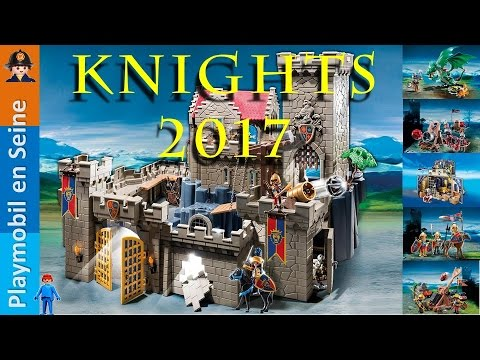 playmobil knights 2017 2018 nouveautes youtube. Black Bedroom Furniture Sets. Home Design Ideas