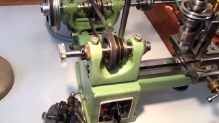 Lorch KD50 High Precision Watchmaker Lathe with Accessories