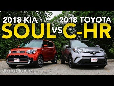 2018 Toyota C-HR vs Kia Soul Comparison