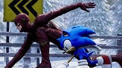 Sonic vs The Flash -  EPIC RACE!