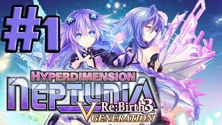 Hyperdimension Neptunia Re;Birth3: V Generation (PC) - Part 01 - Prologue: A New Story Begins