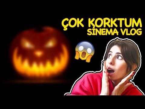 Çok Korktum Halloween İzledim Sinema Vlog Dila Kent