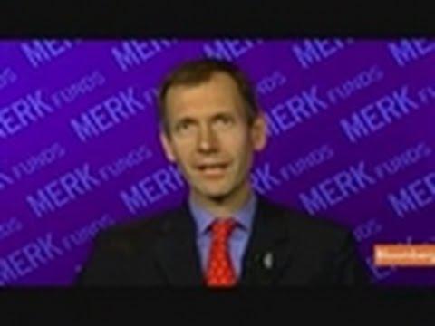 Merk Says He's `Fairly Positive' on Euro in Long Term