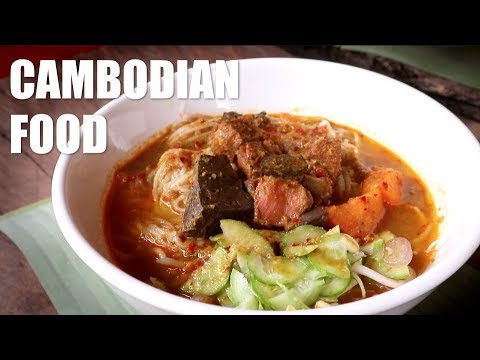 Cambodian Food Tour in Siem Reap!
