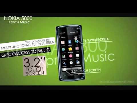 Nokia 5800 Xpress Music Navi Official video