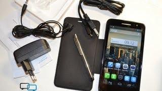 Розпакування Alcatel One Touch Scribe HD зі стилусом і обкладинкою (unboxing)