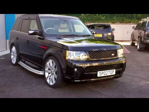 Fitting SVR Style Front Bumper To A 2010 Range Rover Sport
