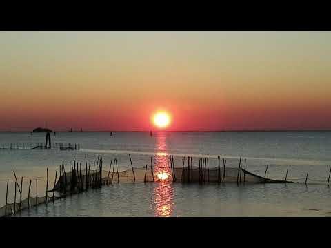 Spettacolo tramonto 2021 ❤ Lido di Venezia - Alberoni