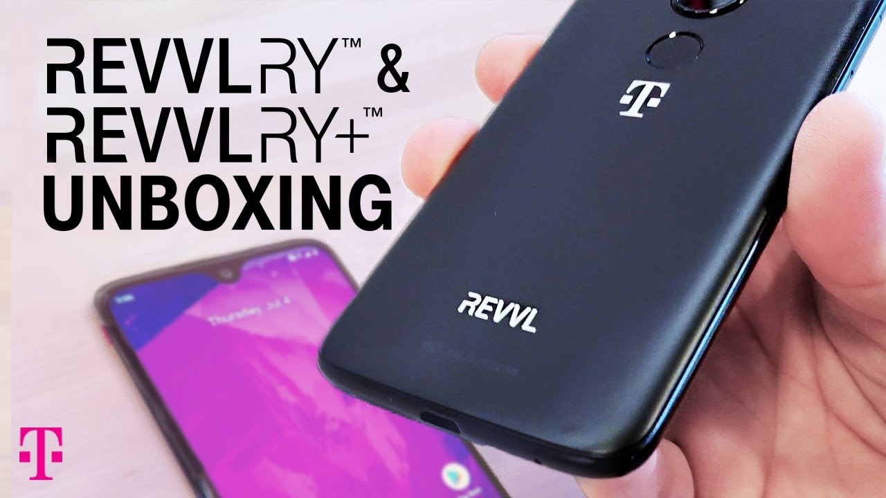 T-Mobile's new REVVLRY phones are basically just rebranded