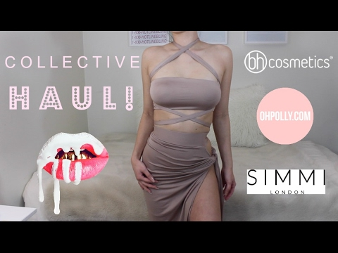 Collective Try On Haul: Oh Polly, ASOS, GoJane, BH Cosmetics, Kylie Cosmetics & More!   Melissa Chen