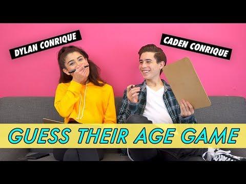 Dylan Vs Caden Conrique - Guess Their Age