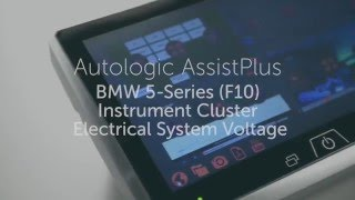 How to Display Vehicle System Voltage via the Instrument Cluster on BMW F10 models