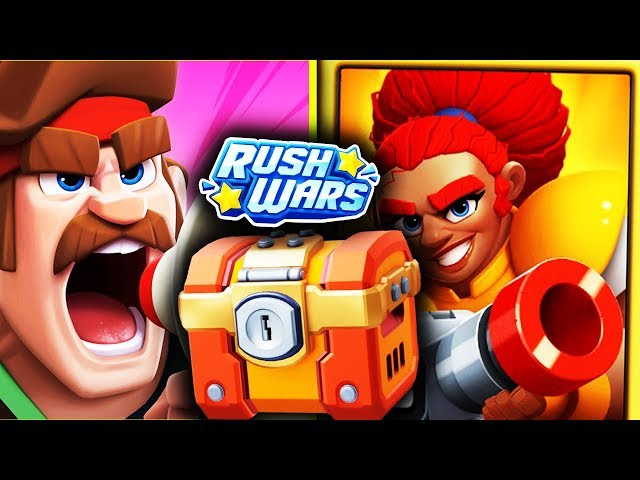 MEGA BUG LA COMMANDER SI VINE EPIC CHEST - RUSH WARS!