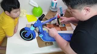 나인봇 ninebot e8 언빡싱 어린이 전동킥보드