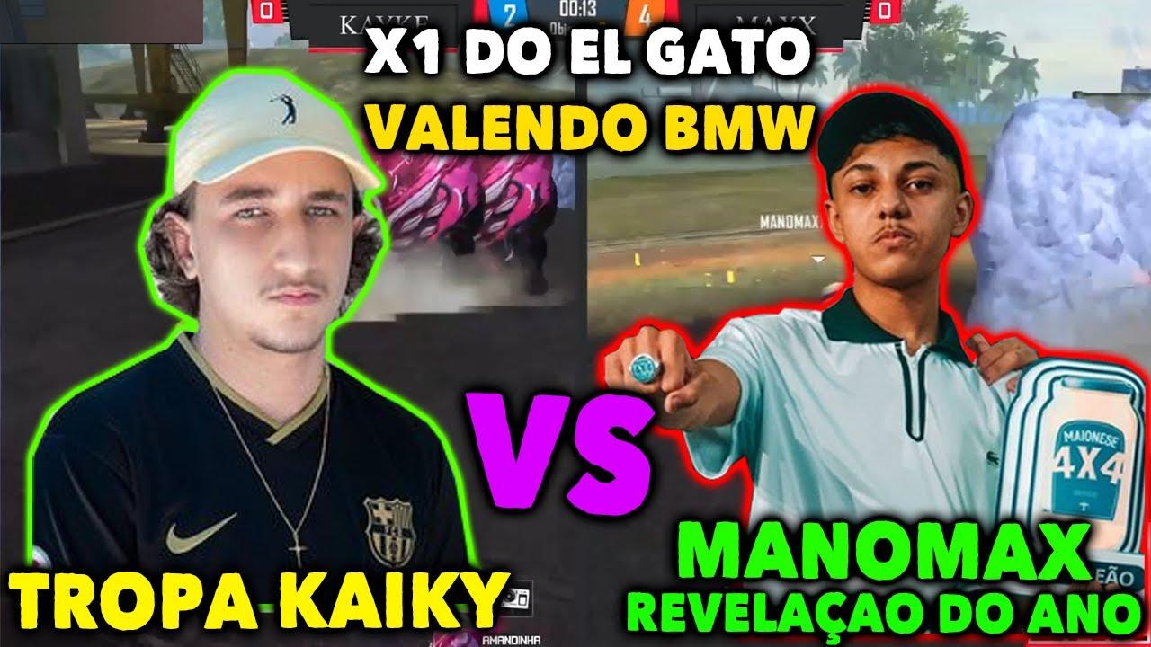 TROPA KAIKY VS MANOMAX  X1 DO ELGATO VALENDO BMW - MANOMAX MOSTROU PORQUE É O MELHOR DO MOMENTO!