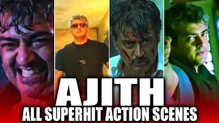 สุขสันต์วันเกิด Ajith Kumar | วันเกิด Thala Ajith พิเศษฉากแอ็คชั่น Superhit ทั้งหมด