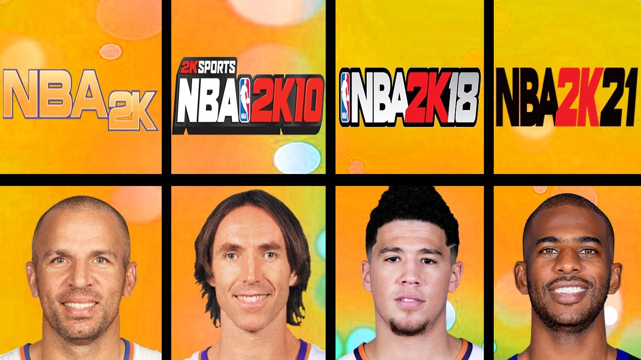 Highest Rated Phoenix Suns Players Ever in NBA 2K Games (NBA 2K - NBA 2K21)
