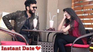 Instant Date in Cafe With a Stranger | Haris Awan