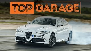 Alfa Romeo Giulia Q na Torze Słomczyn |  TEST | Top Garage