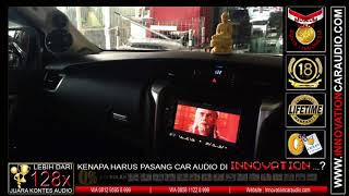 Paket Audio Mobil Fortuner | SQ – SQL – Car Theater | Innovation Car Audio Jakarta