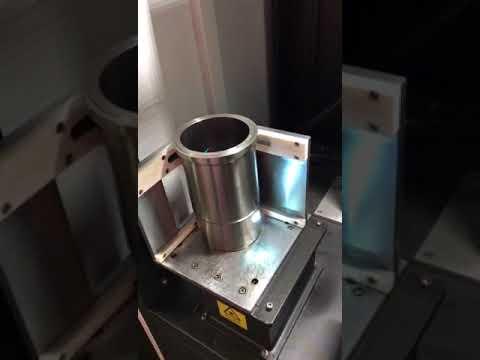 Fiber laser  engraving machine for metal, stainless steel, cylinder