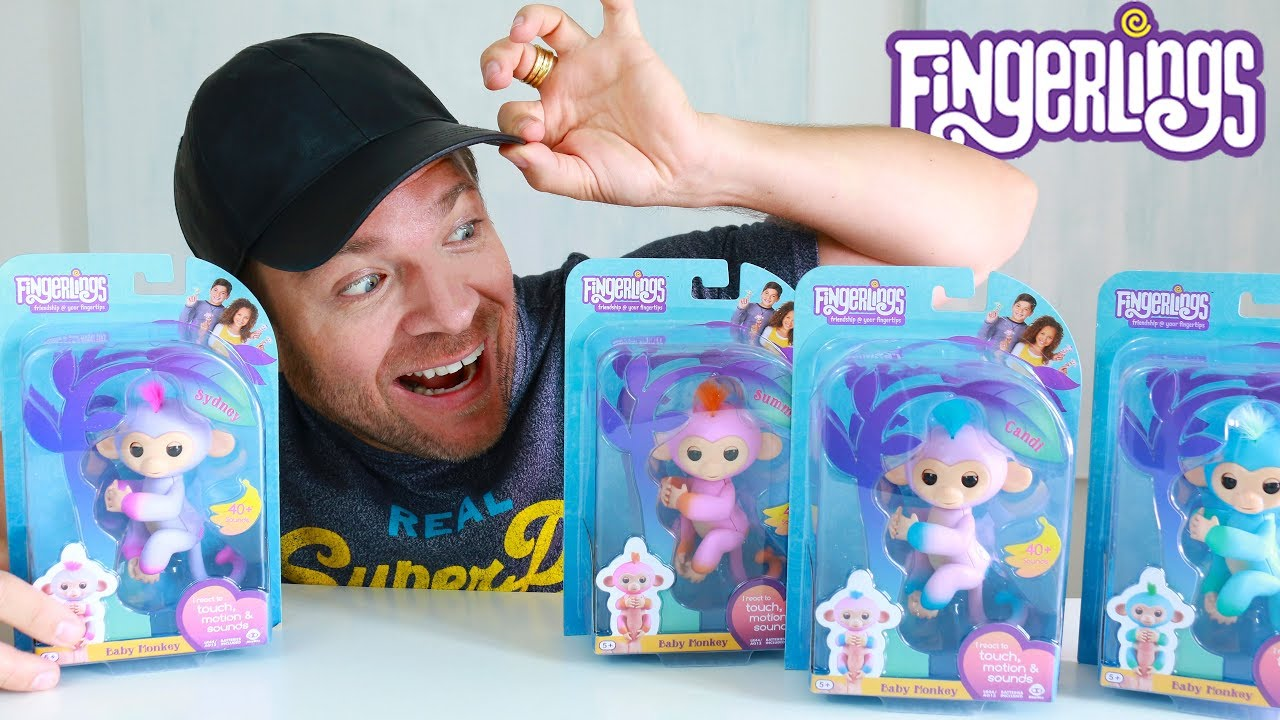 Top Toys 2019 Christmas.Top Toys For Christmas 2018 Fingerlings Monkeys Toys Reviews
