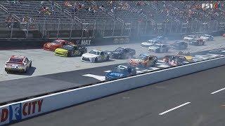 NASCAR Xfinity Series 2018. Bristol Motor Speedway. Multiple Crash #2