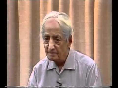 J Krishnamurthi, 1983, Sanaan, What is the future of mankind, 5th talk, edited